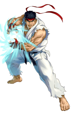 Illustration From Street Fighter 2: The World Warrior Game in the Best Online Casino