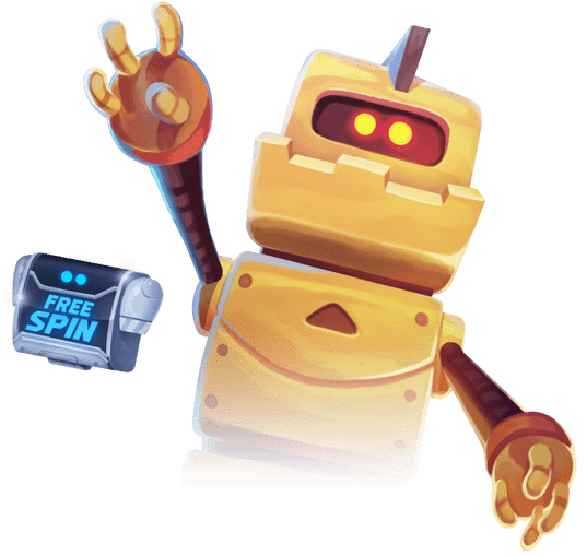 Best Online Slots Illustration from Wild Robo Factory