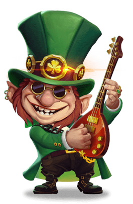 Online Spielautomaten Illustration aus Lucky Leprechaun Scratch